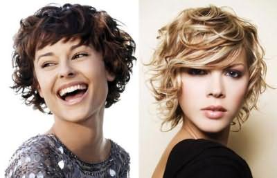 Волнистые волосы и короткая стрижка несовместимы? Не правда, можно создать очень эффектный образ!