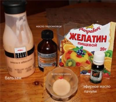 На фото - рецепт домашнего ламинирования