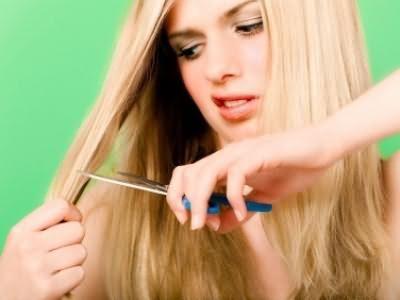 Если волосы секутся