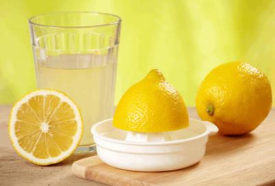 Немного лимонного сока усилят эффект