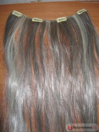 Волосы на заколках Hivision фото