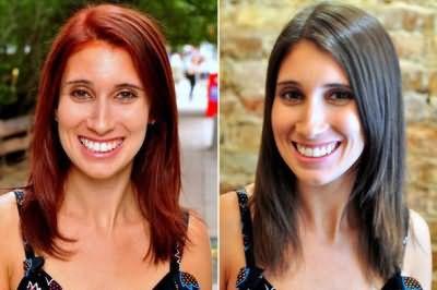 смывка для волос до и после