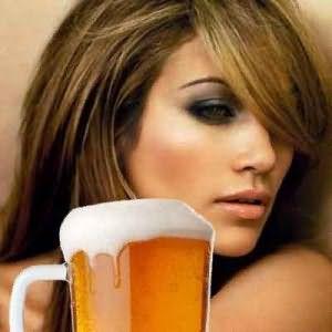Пиво - широко используется для лечения волос.