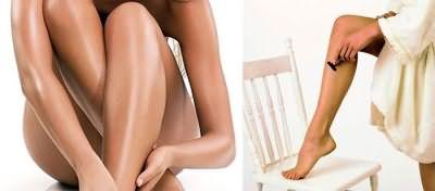 Неправильное проведение депиляции ног – причина вросших волосков