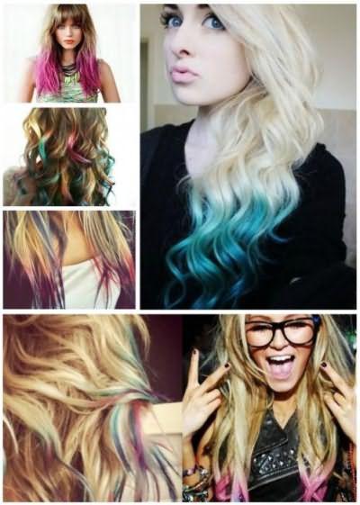 временная краска для волос аэрозоль