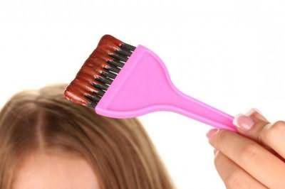 как дома покрасить кончики волос