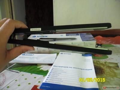 Выпрямитель волос VITEK VT 2306 фото
