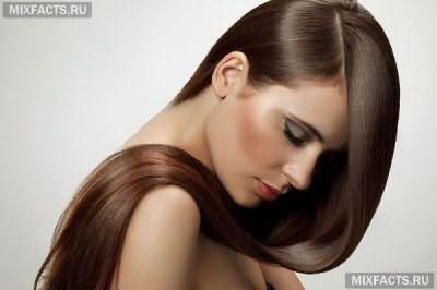 как выпрямить волосы самостоятельно