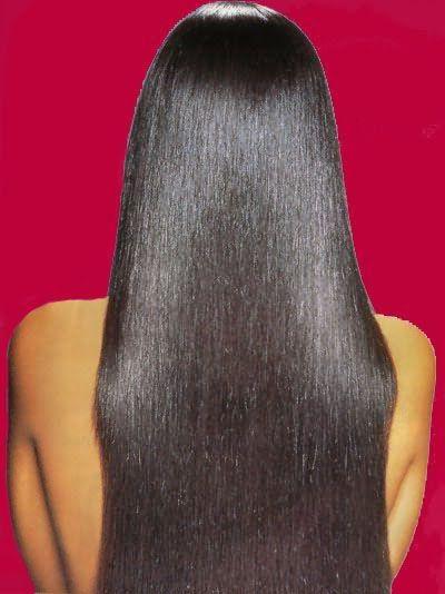 Выпрямление волос на долгий срок