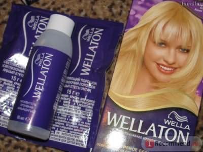 Краска для волос Wella Wellaton Блондирование фото