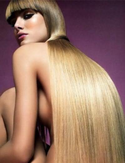 Длинные волосы всегда дают возможность делать разнообразные прически.