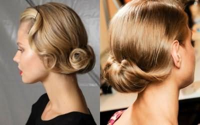 Вы можете создать множество романтических причесок на завитые волосы