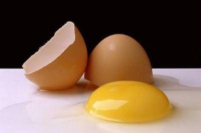 яичные желтки для волос