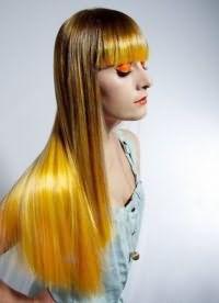 желтые волосы 1