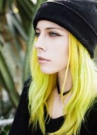 желтые волосы 2