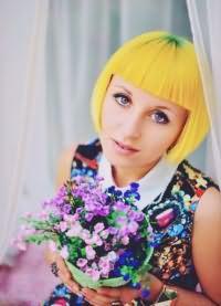 желтые волосы 3