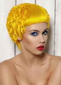 желтые волосы 8