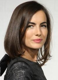 красивые стрижки на средние волосы без челки 1