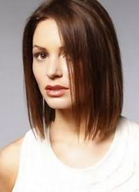 красивые стрижки на средние волосы без челки 2