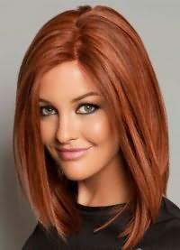 красивые стрижки на средние волосы без челки 3