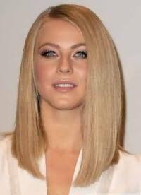 красивые стрижки на средние волосы без челки 7