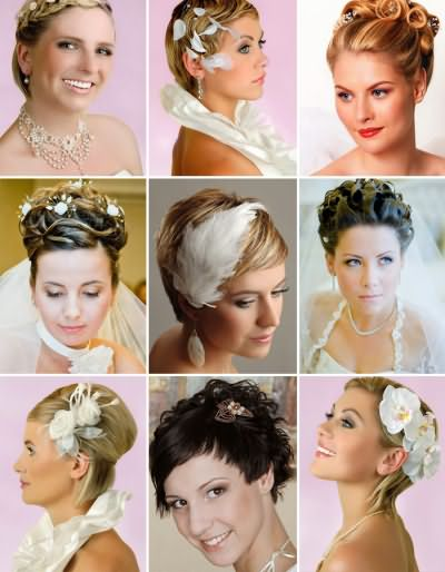 Прически и укладки для свадебного торжества