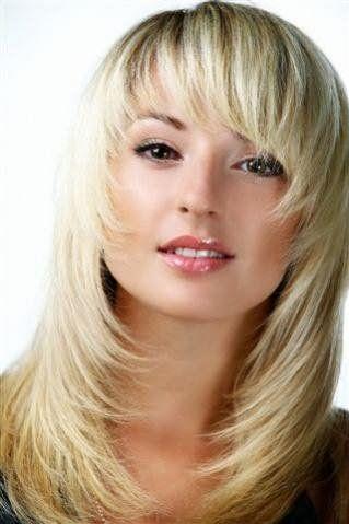 Стрижка Каскад на средние волосы 2016 фото