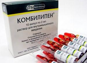 Препарат с набором витаминов В1, В6, В12.