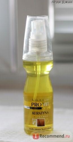 Жидкий кератин LOTON PROVIT Жидкий кератин для волос фото