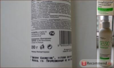 Спрей для волос Sessio Жидкий шелк с UV фильтром фото