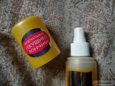 """Экспресс-Кондиционер Золотой шелк """"Витамины для волос"""" против ломкости и сечения фото"""